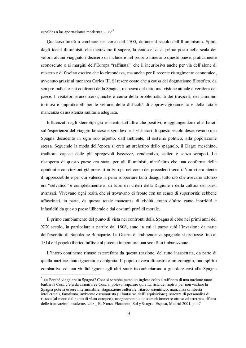 Anteprima della tesi: Carmen: un'immagine della Spagna nell'800, Pagina 4
