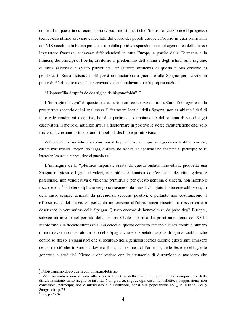 Anteprima della tesi: Carmen: un'immagine della Spagna nell'800, Pagina 5