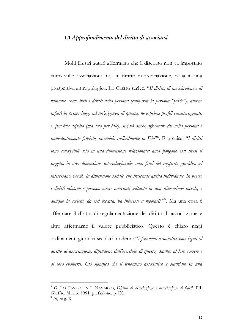 Anteprima della tesi: Un particolare modello di associazione cristiana: Nomadelfia, Pagina 13
