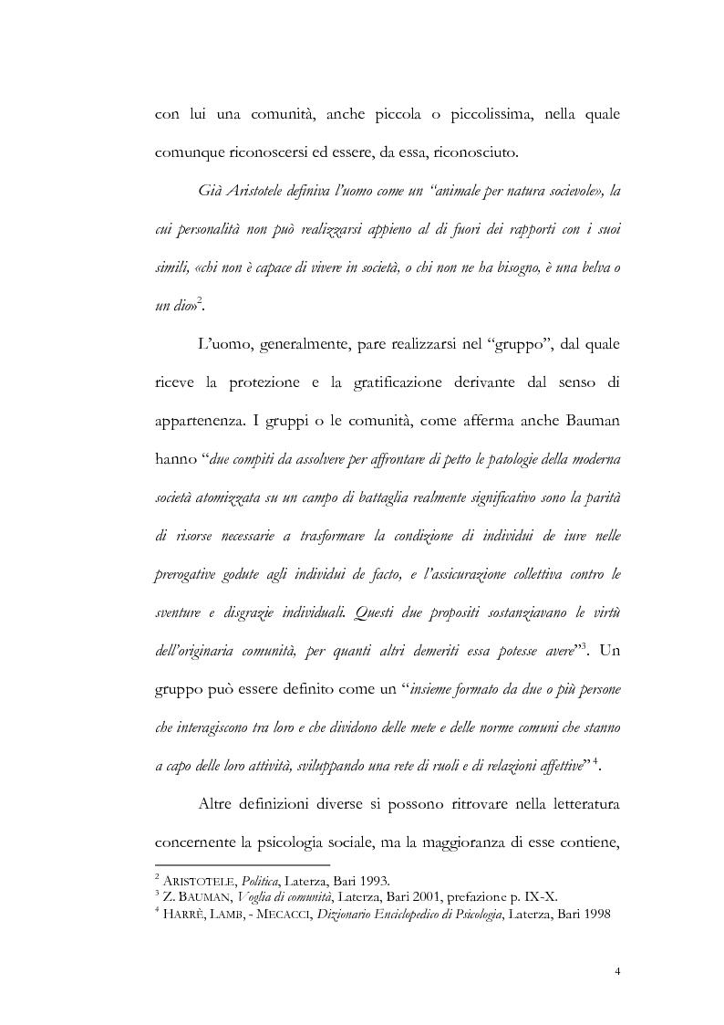 Anteprima della tesi: Un particolare modello di associazione cristiana: Nomadelfia, Pagina 5