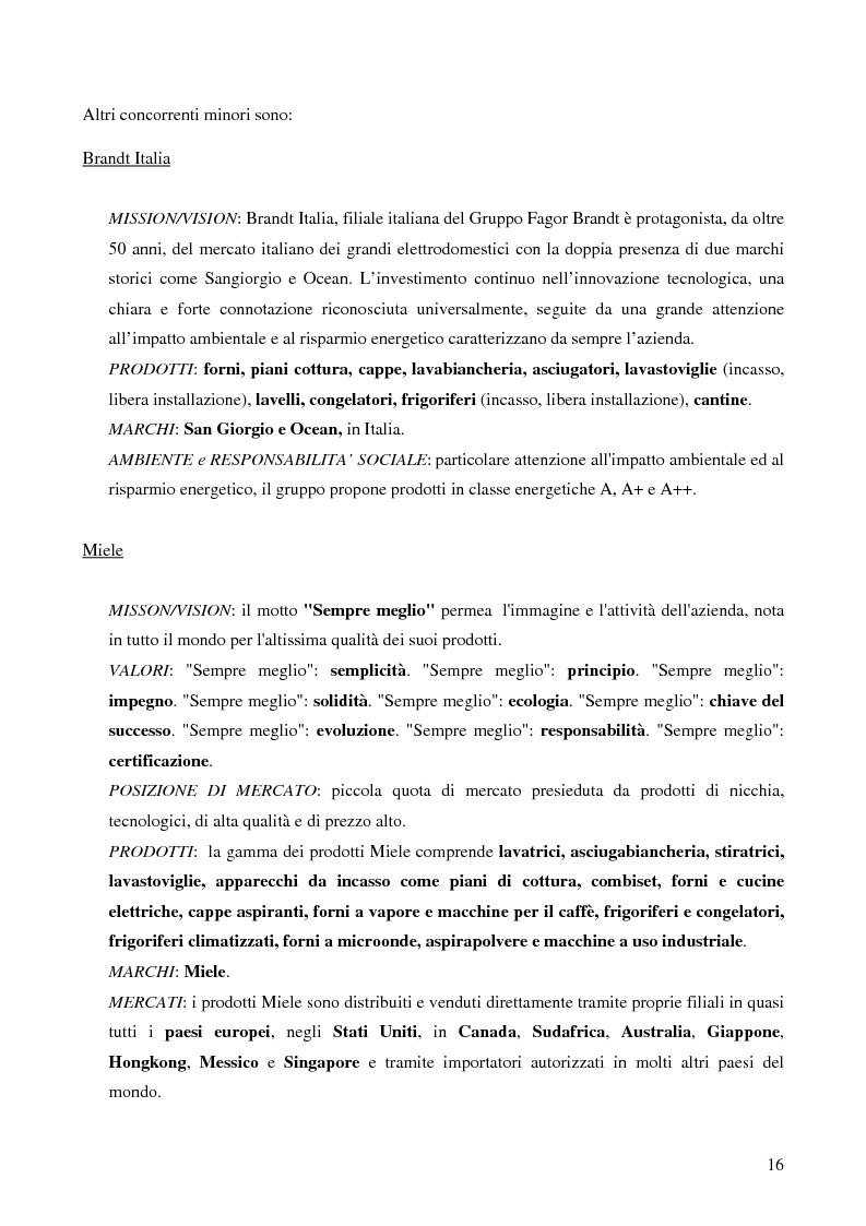 Anteprima della tesi: Il trade marketing nel settore degli elettrodomestici bianchi: il caso Electrolux, Pagina 14