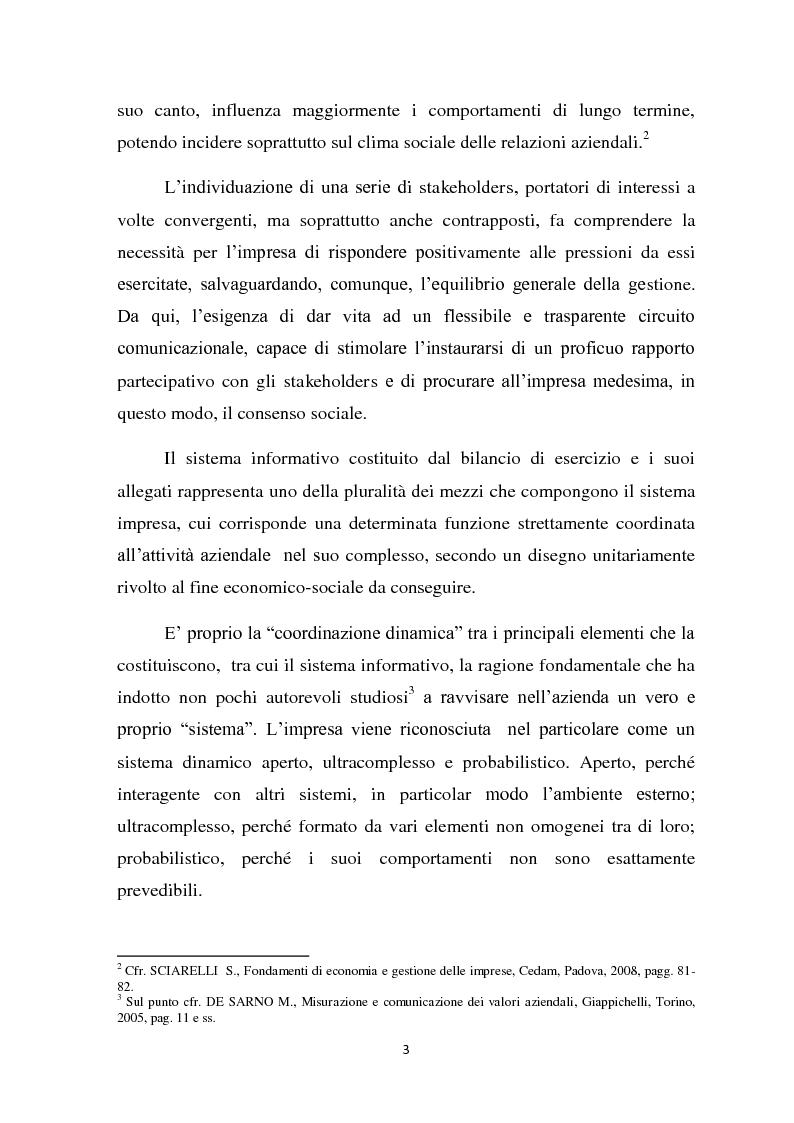 Anteprima della tesi: Il ruolo informativo della relazione sulla gestione, Pagina 4