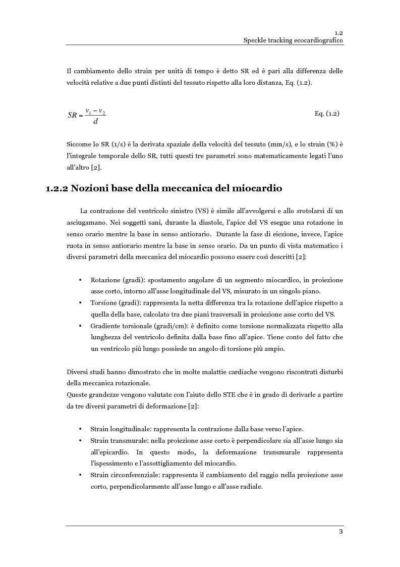 Anteprima della tesi: Speckle tracking 2-D in ecografia vascolare ed ecocardiografia: limitazioni pratiche ed ottimizzazione, Pagina 4