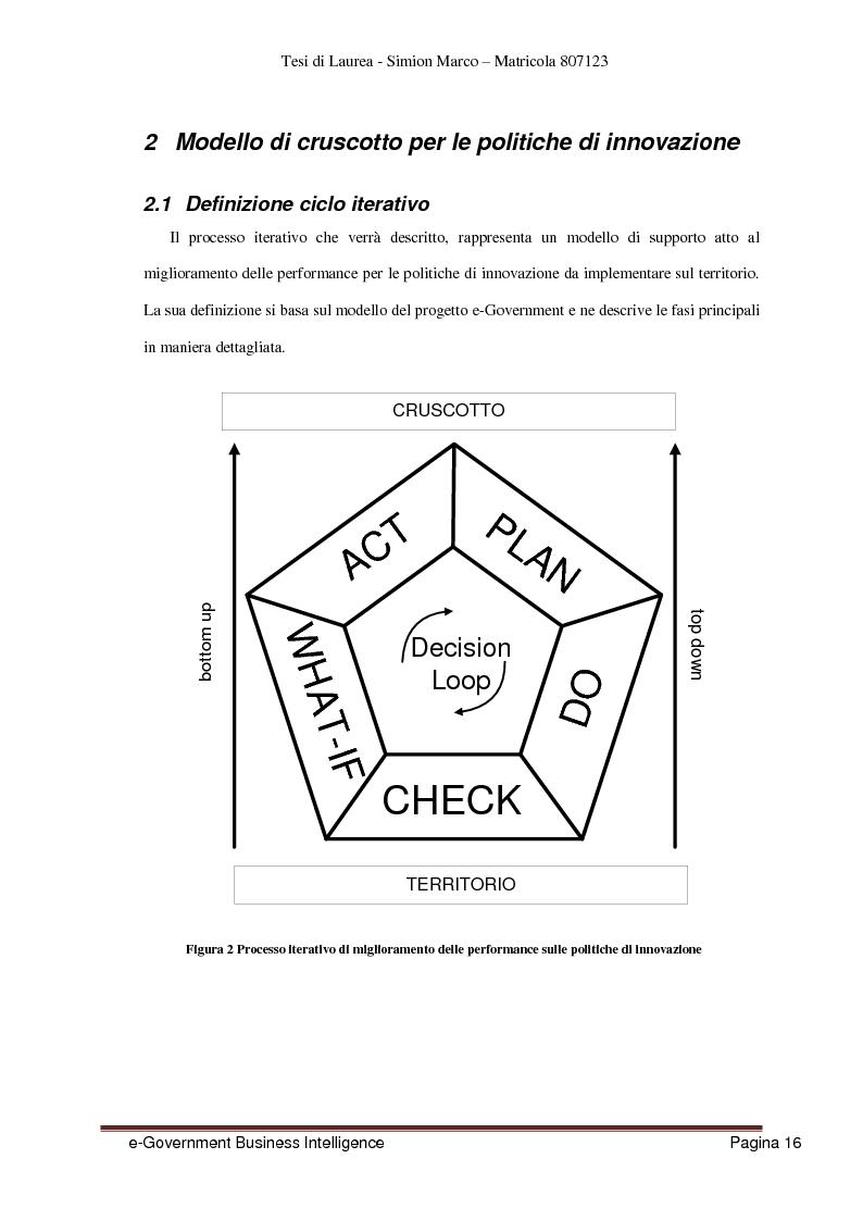 Anteprima della tesi: Analisi, Progettazione e Sviluppo di un Architettura Software nell'ambito dell'e-Government Business Intelligence, Pagina 8