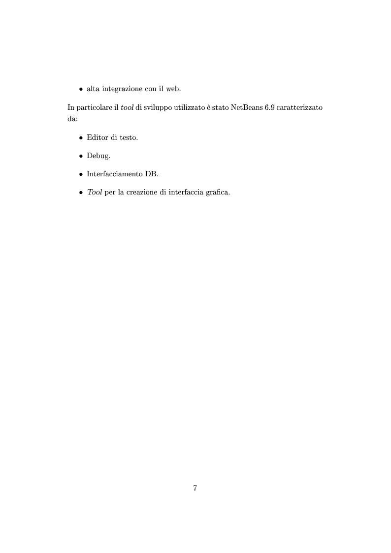Anteprima della tesi: Sviluppo di un framework in java per applicazioni di analisi automatica dei dati di qualità di immagine con architettura di tipo rete neurale, Pagina 4