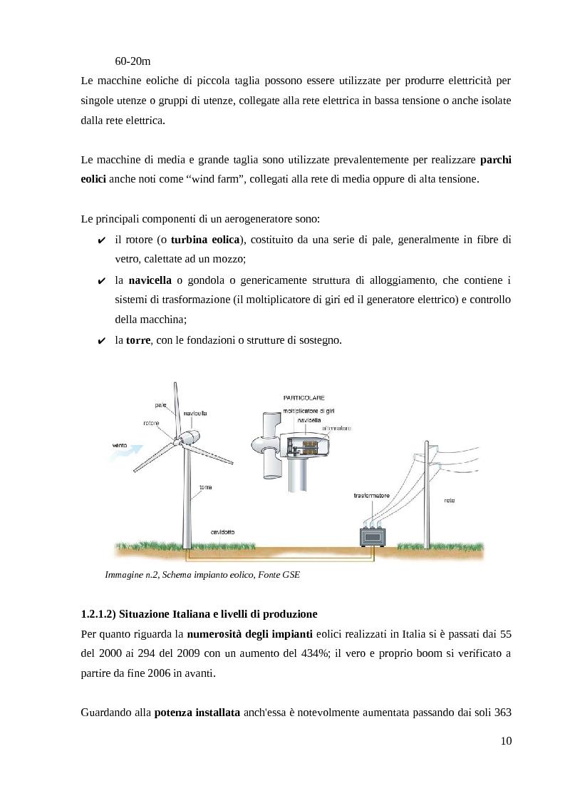 Anteprima della tesi: Energia Fotovoltaica - il Terzo Conto Energia: Presentazione di un caso pratico, Pagina 11