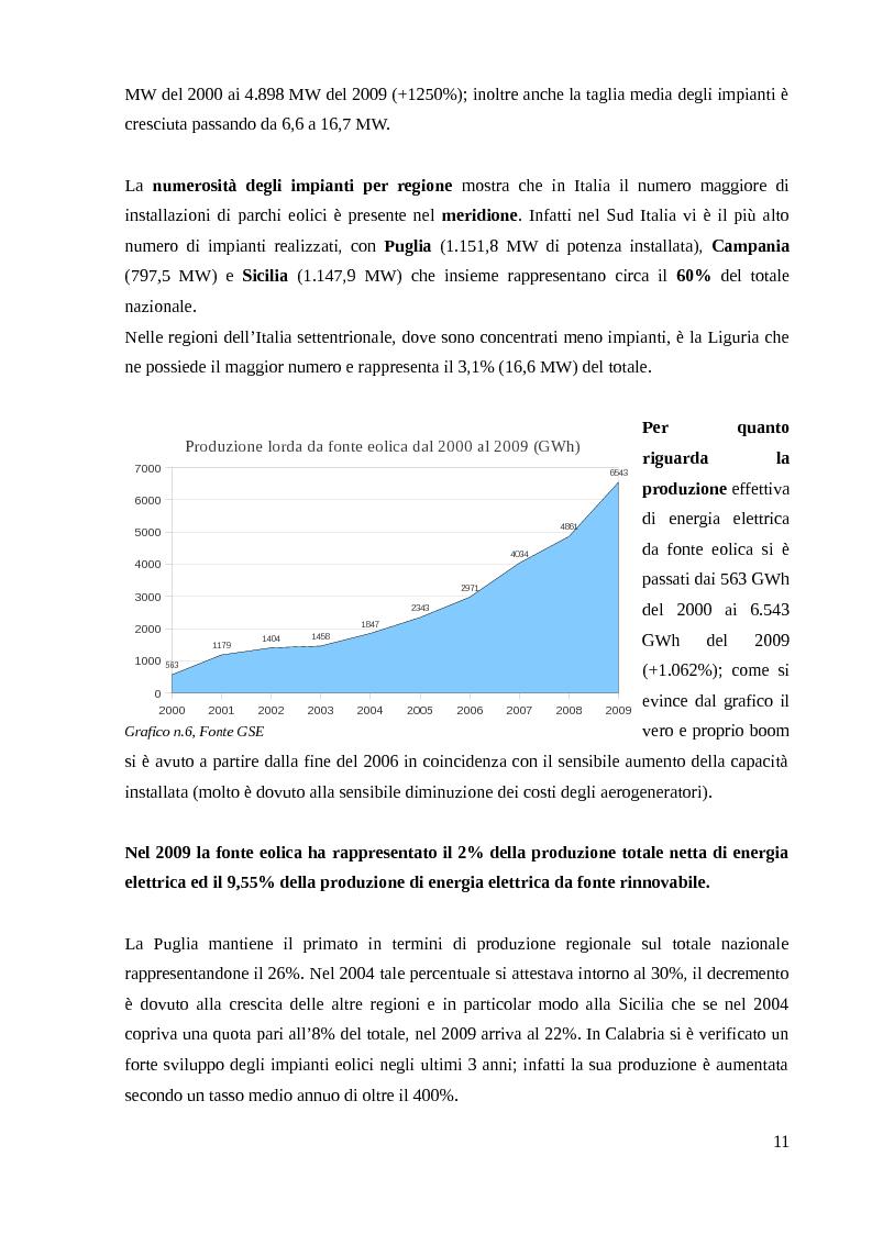 Anteprima della tesi: Energia Fotovoltaica - il Terzo Conto Energia: Presentazione di un caso pratico, Pagina 12