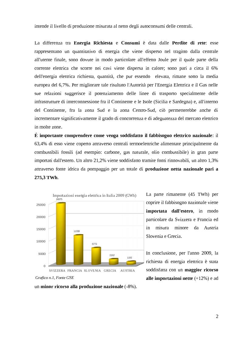Anteprima della tesi: Energia Fotovoltaica - il Terzo Conto Energia: Presentazione di un caso pratico, Pagina 3
