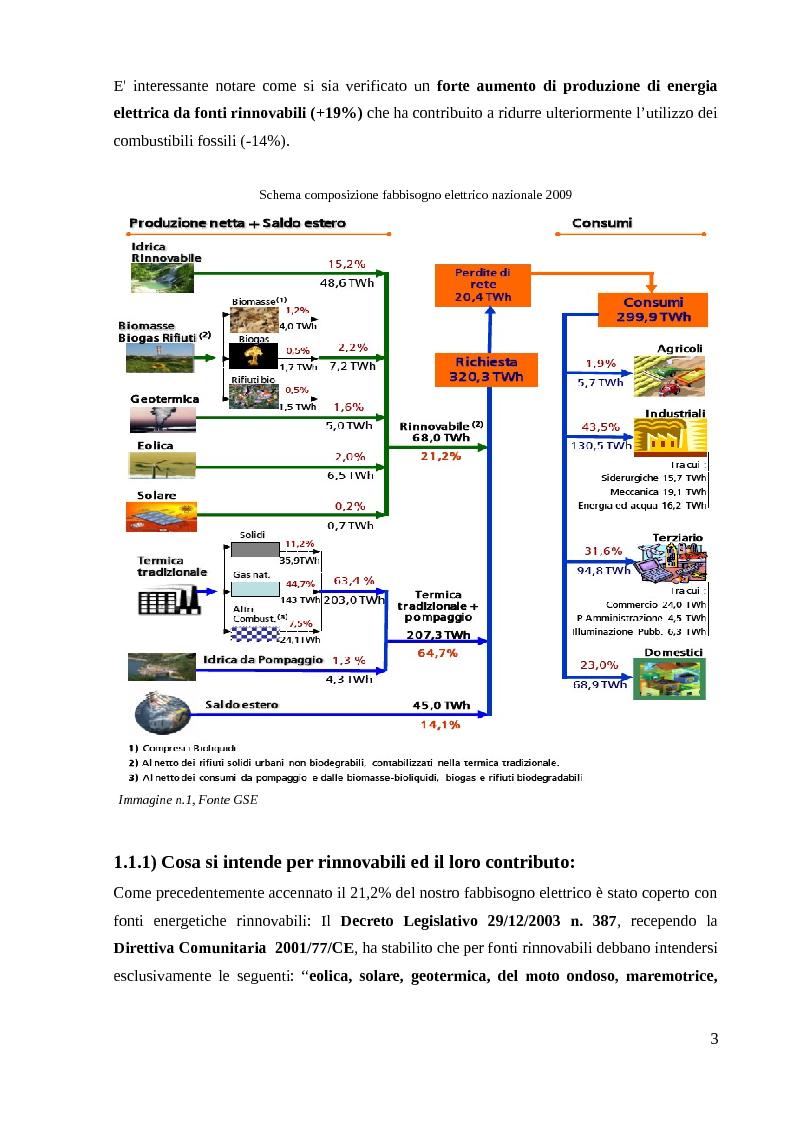 Anteprima della tesi: Energia Fotovoltaica - il Terzo Conto Energia: Presentazione di un caso pratico, Pagina 4