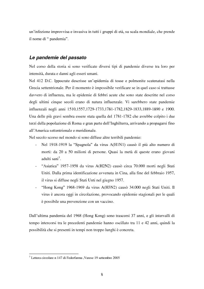 Anteprima della tesi: Influenza aviaria in Italia: pluralismo dell'informazione e crisis management della comunicazione, Pagina 7
