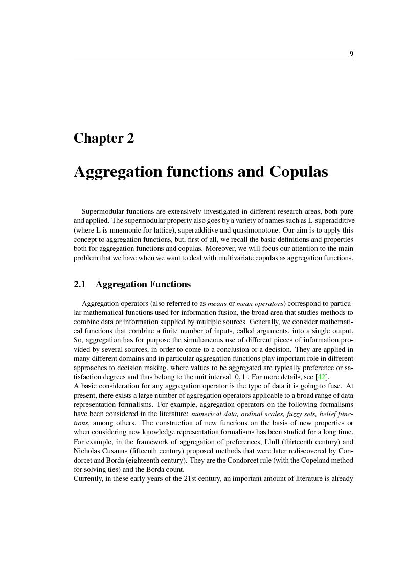 Anteprima della tesi: New construction methods for copulas and the multivariate case, Pagina 10