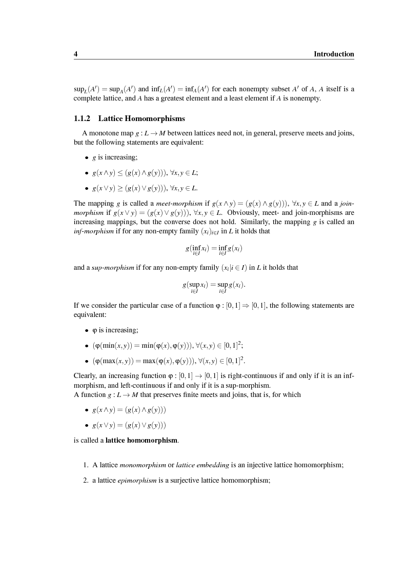 Anteprima della tesi: New construction methods for copulas and the multivariate case, Pagina 5