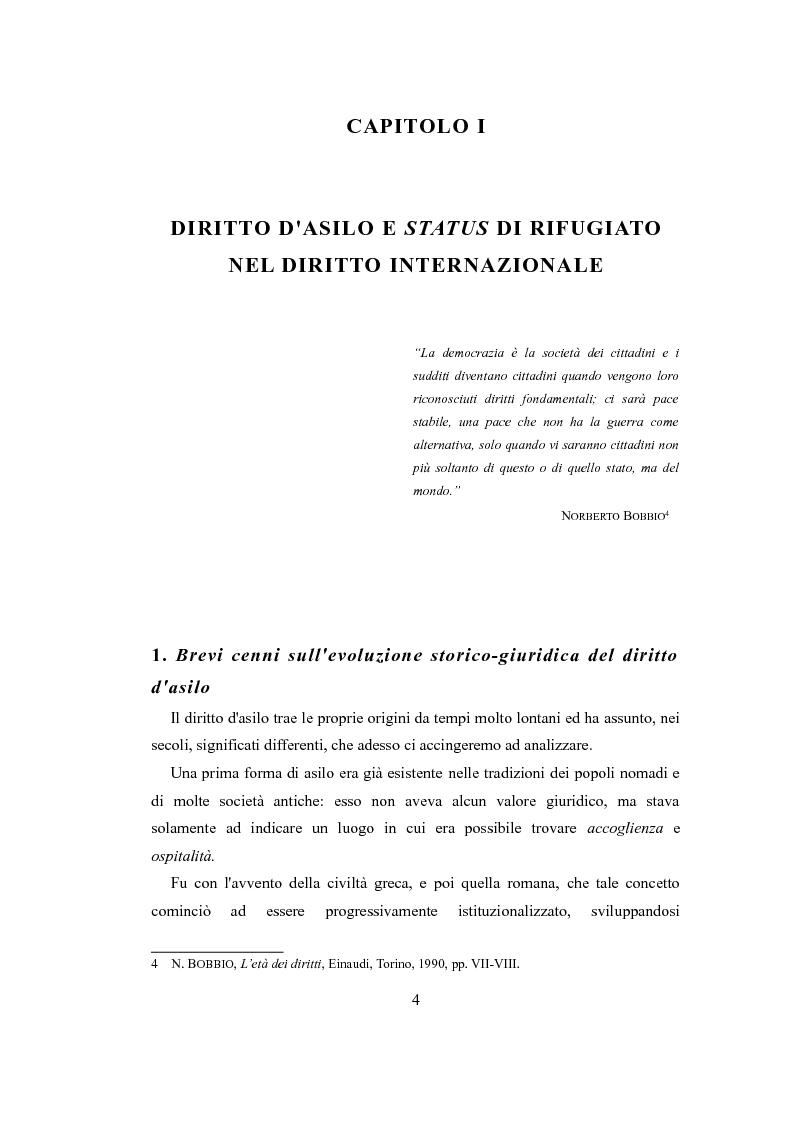 """Anteprima della tesi: Le nuove politiche europee sul diritto d'asilo. """"La protezione dei rifugiati e dei richiedenti asilo nello spazio comune europeo di libertà, sicurezza e giustizia"""", Pagina 2"""
