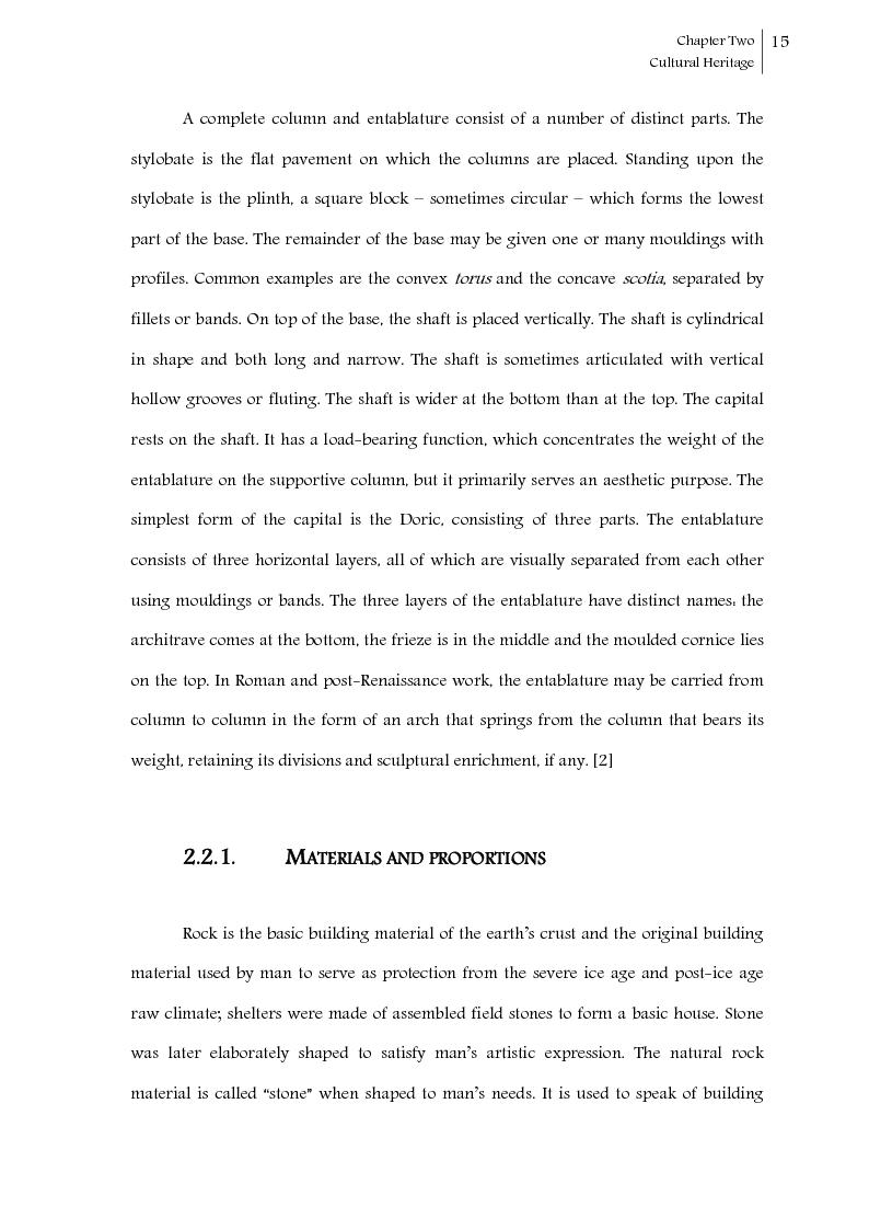 Anteprima della tesi: Seismic response control of rigid block systems by using Tendon System: the case of Greek column, Pagina 16