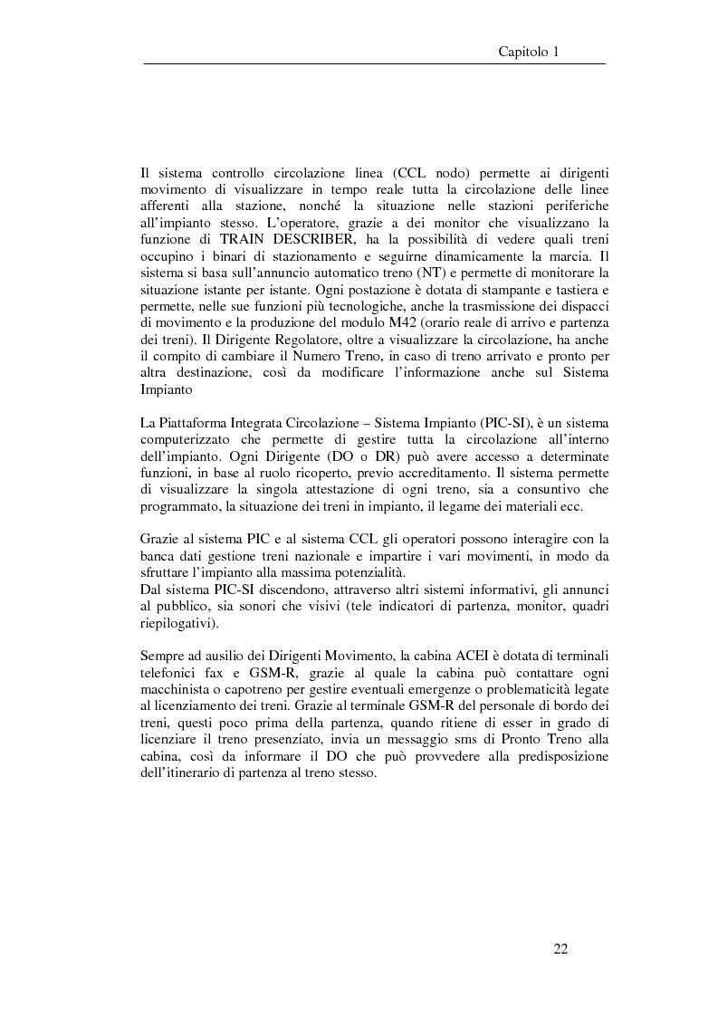 Anteprima della tesi: Programma di esercizio della stazione di Milano Centrale in funzione dell'attivazione dell'innesto della nuova linea Venezia, Pagina 12