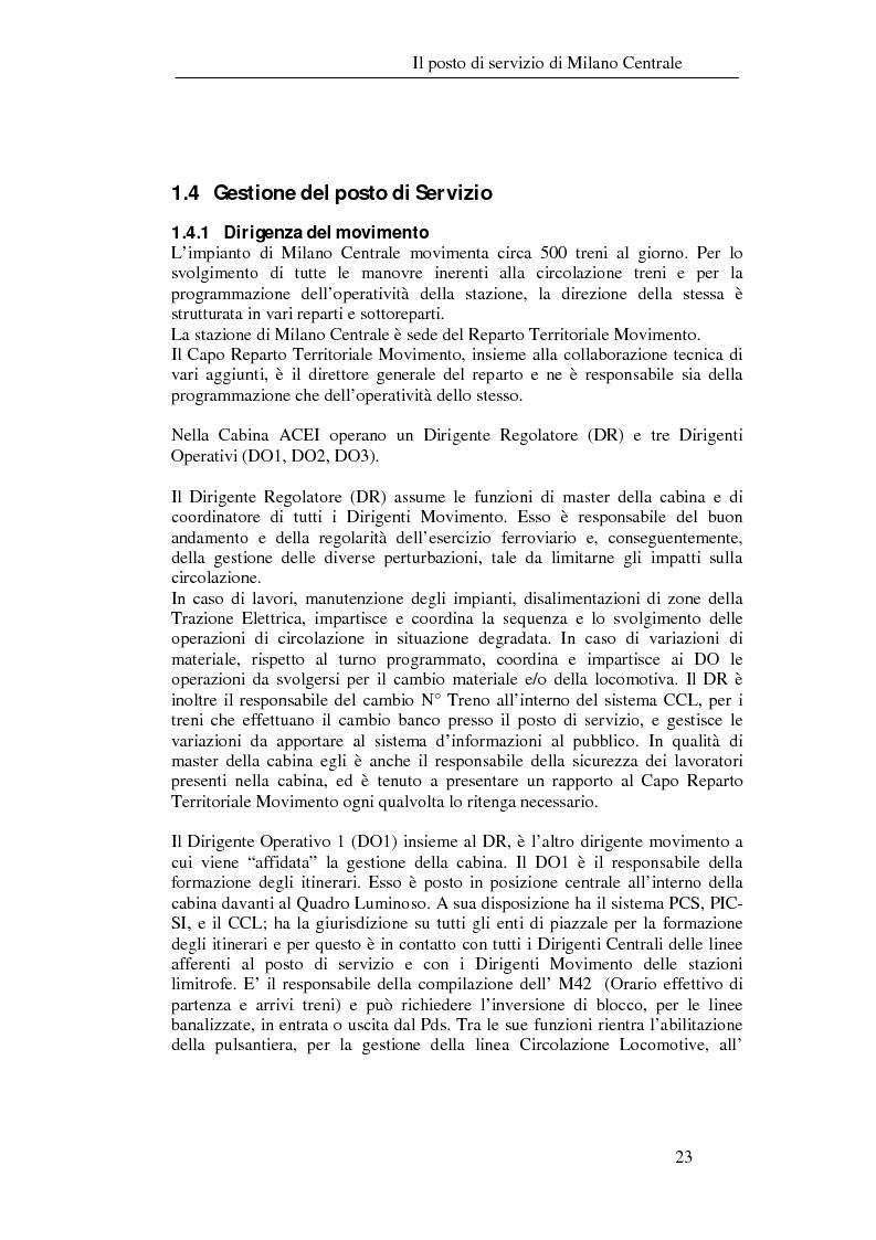 Anteprima della tesi: Programma di esercizio della stazione di Milano Centrale in funzione dell'attivazione dell'innesto della nuova linea Venezia, Pagina 13