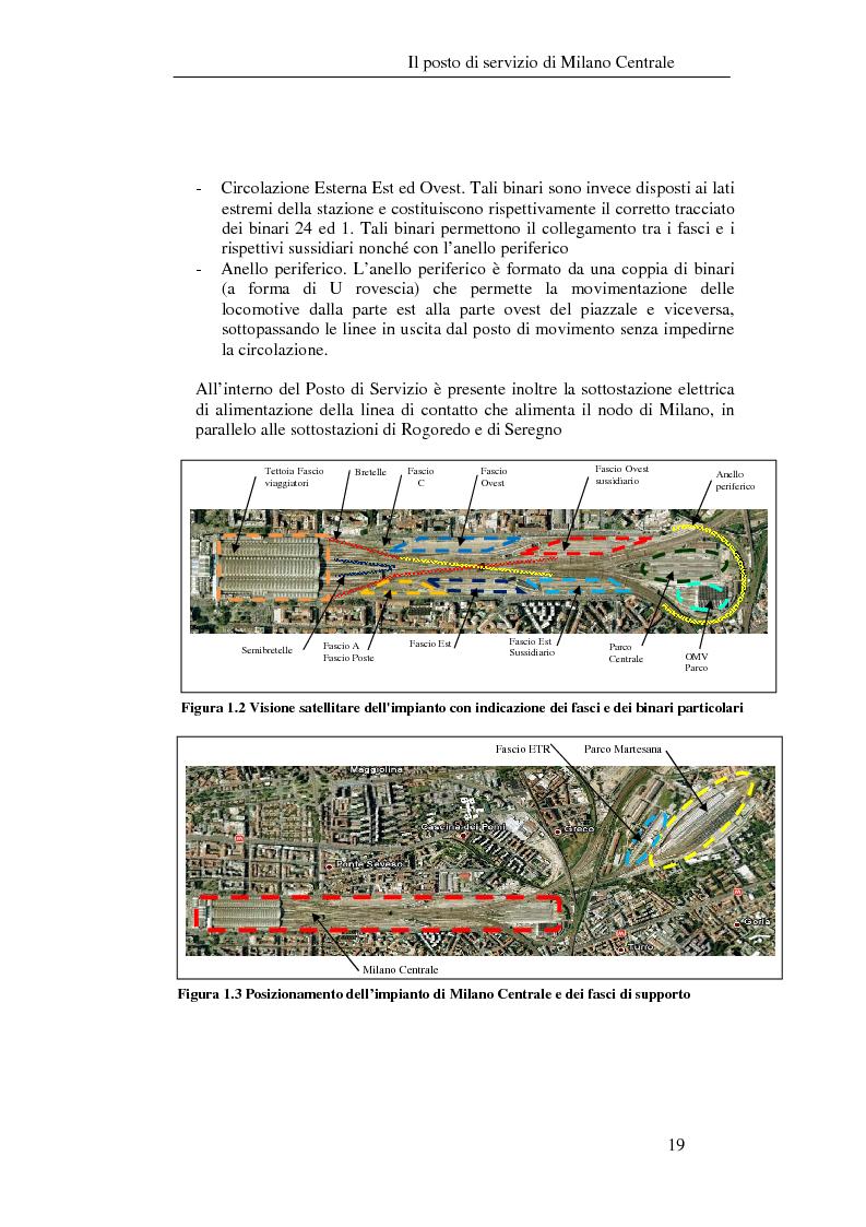 Anteprima della tesi: Programma di esercizio della stazione di Milano Centrale in funzione dell'attivazione dell'innesto della nuova linea Venezia, Pagina 9