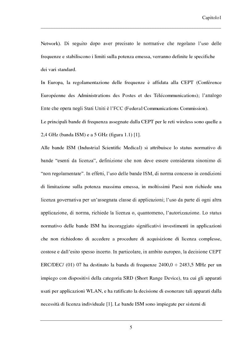 Anteprima della tesi: Progetto di antenne planari multibanda per applicazioni WLAN, Pagina 10