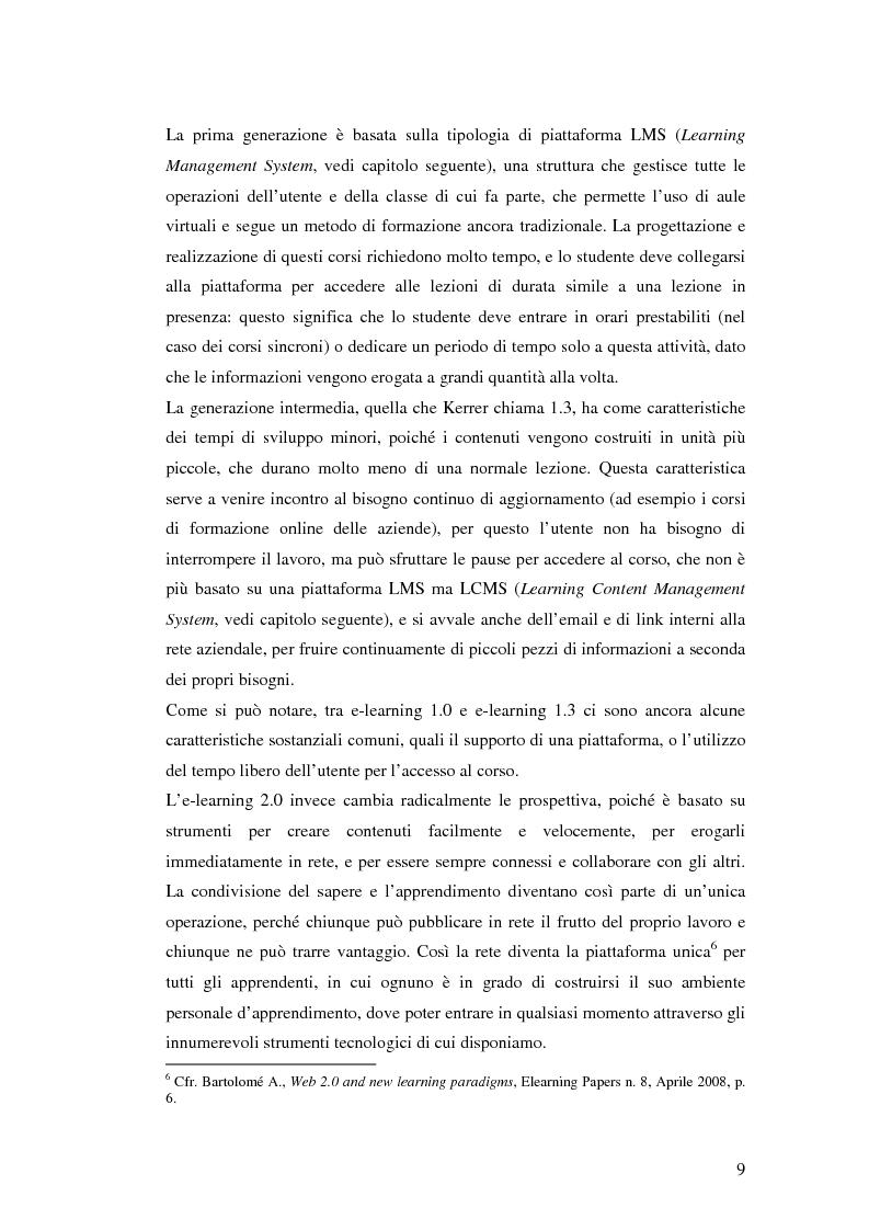 Anteprima della tesi: Usabilità e e-learning: uno studio sull'apprendimento dell'italiano online, Pagina 8