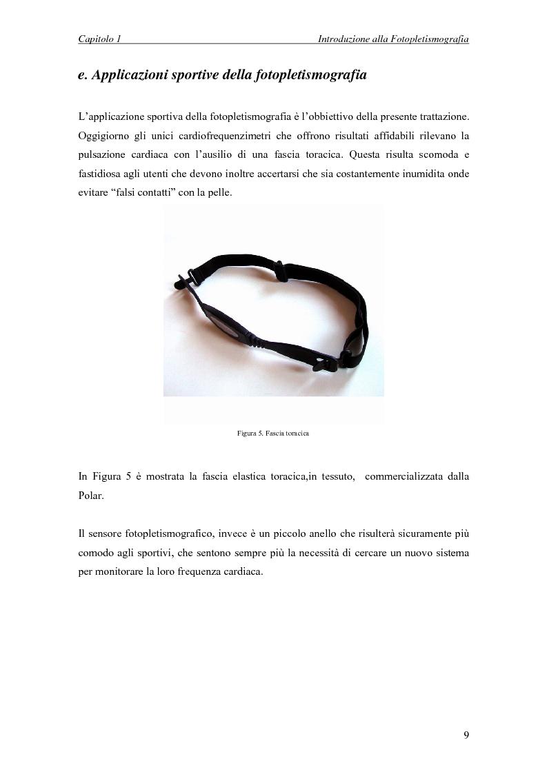 Anteprima della tesi: Progettazione di un sistema embedded per il rilievo della pulsazione cardiaca tramite un sensore fotopletismografico, Pagina 7