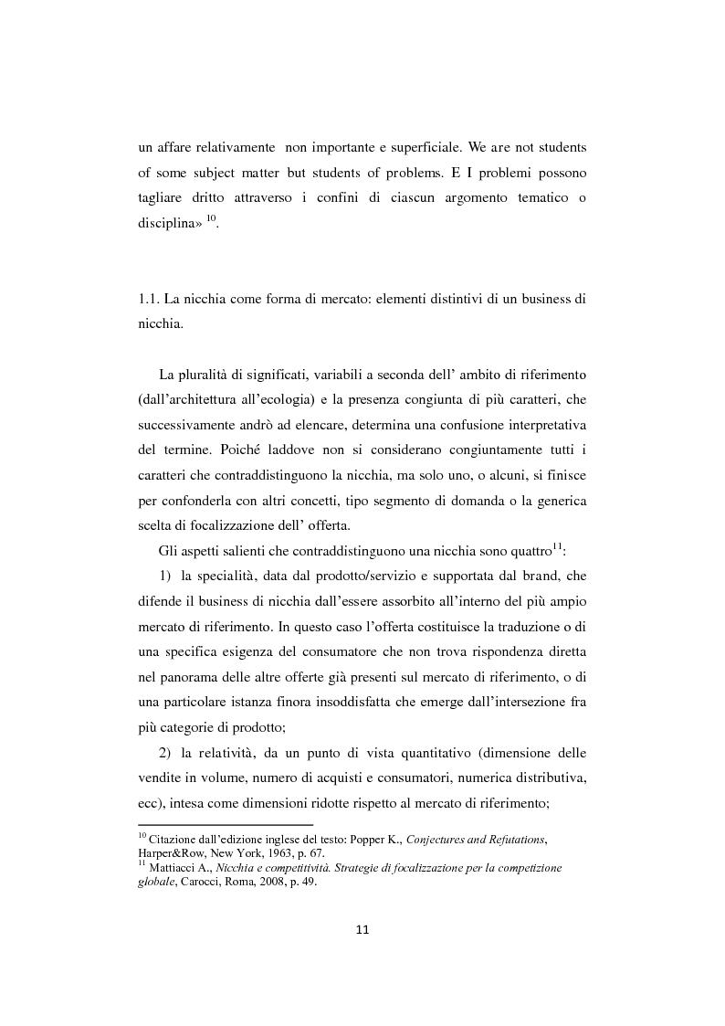 """Anteprima della tesi: I business di nicchia e le strategie di open marketing. Il caso """"The Hub Milano"""", Pagina 4"""