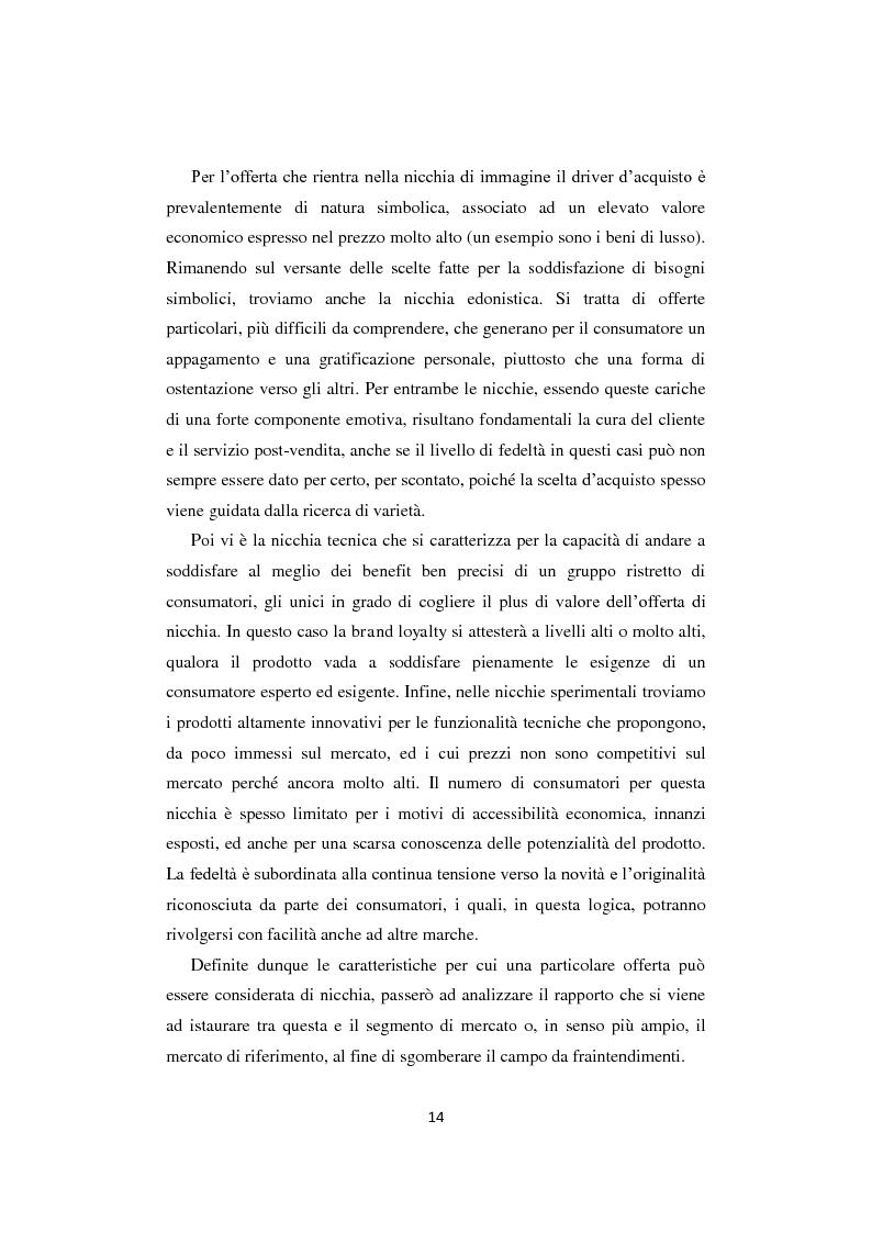 """Anteprima della tesi: I business di nicchia e le strategie di open marketing. Il caso """"The Hub Milano"""", Pagina 7"""