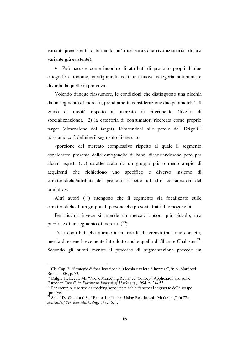 """Anteprima della tesi: I business di nicchia e le strategie di open marketing. Il caso """"The Hub Milano"""", Pagina 9"""