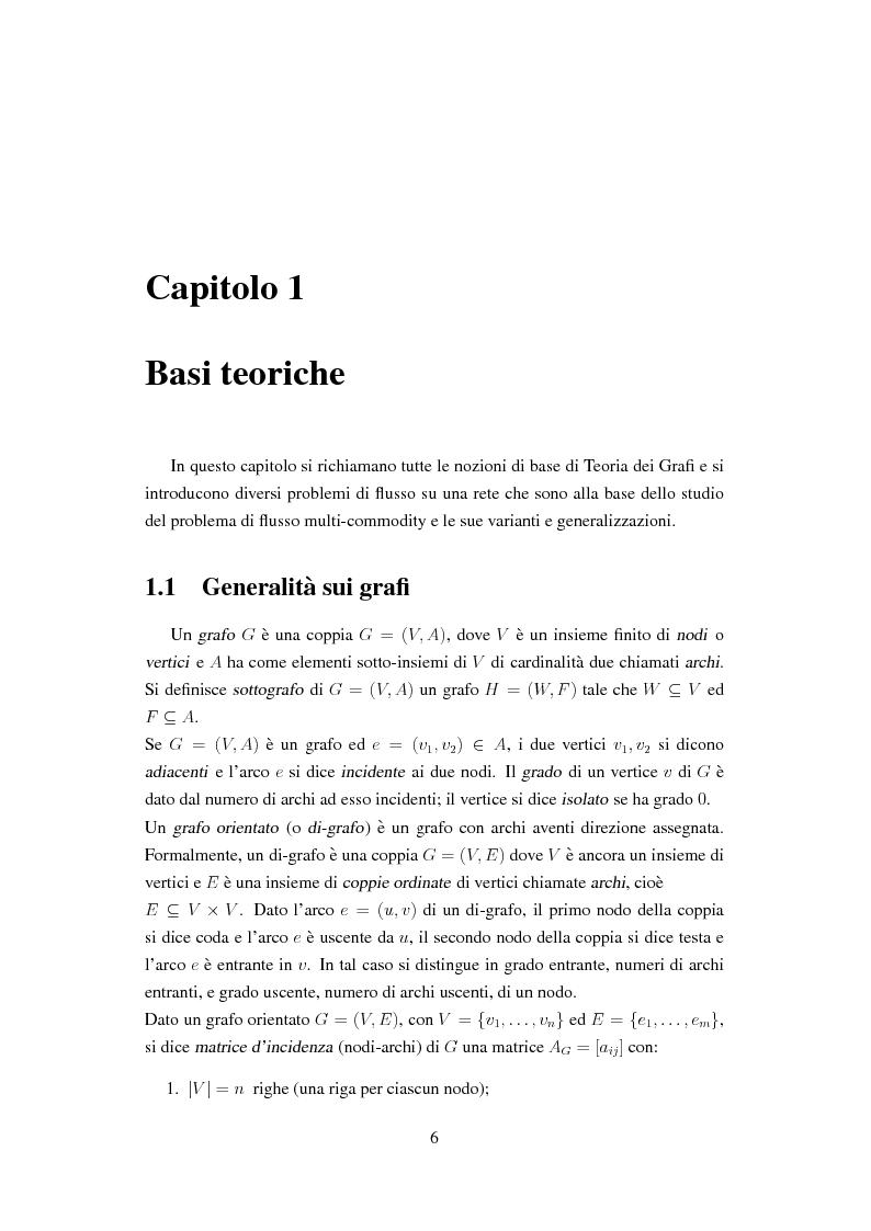 Anteprima della tesi: Il problema dell'efficienza energetica nelle reti di telecomunicazione, Pagina 5