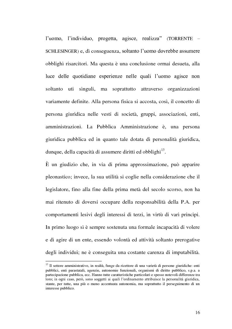 Anteprima della tesi: Profili di responsabilità della P.A. in materia urbanistica ed edilizia, Pagina 14