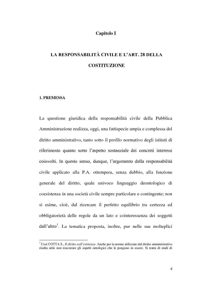 Anteprima della tesi: Profili di responsabilità della P.A. in materia urbanistica ed edilizia, Pagina 2