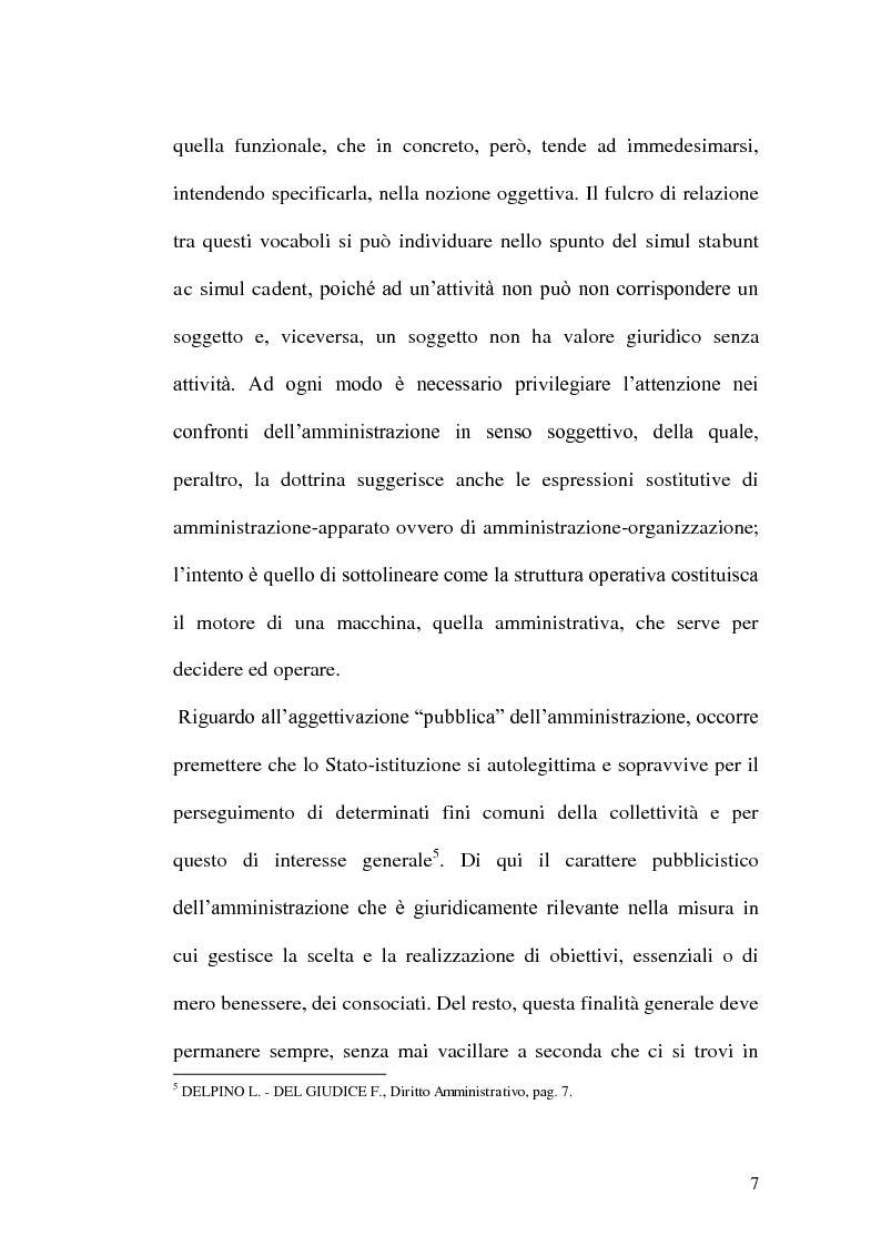 Anteprima della tesi: Profili di responsabilità della P.A. in materia urbanistica ed edilizia, Pagina 5