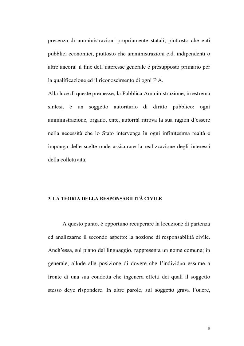 Anteprima della tesi: Profili di responsabilità della P.A. in materia urbanistica ed edilizia, Pagina 6