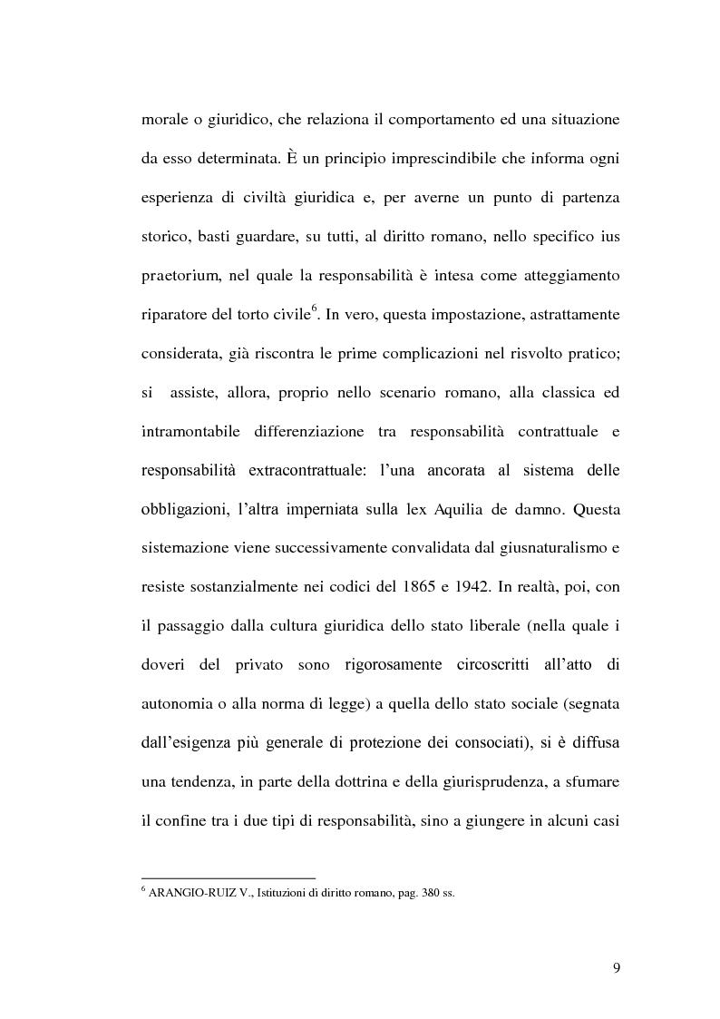 Anteprima della tesi: Profili di responsabilità della P.A. in materia urbanistica ed edilizia, Pagina 7