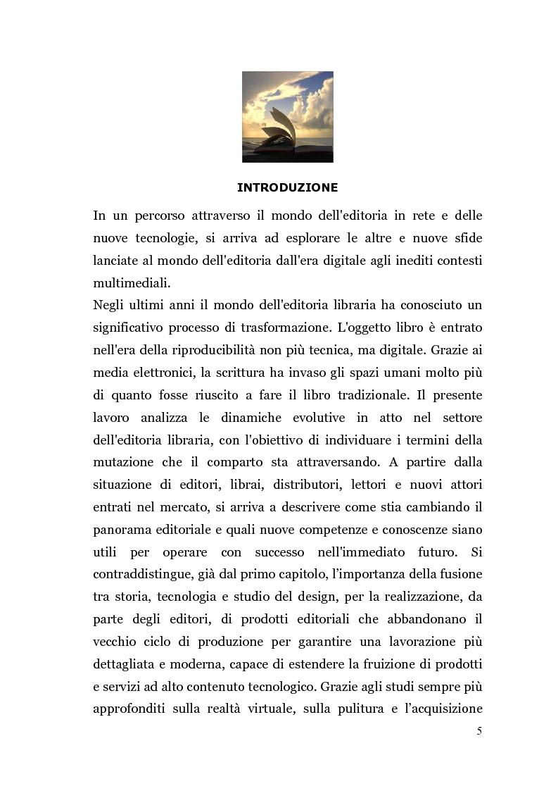 Anteprima della tesi: Analisi di un'Editoria che cambia, Pagina 2