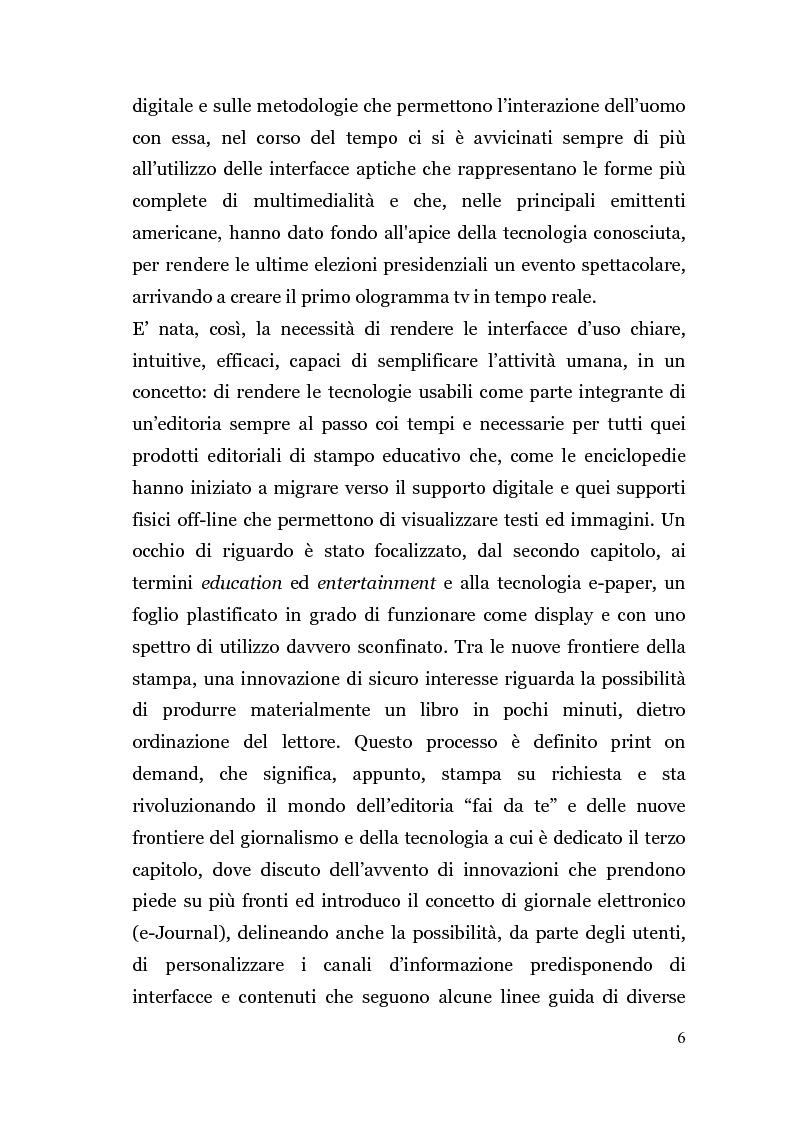 Anteprima della tesi: Analisi di un'Editoria che cambia, Pagina 3