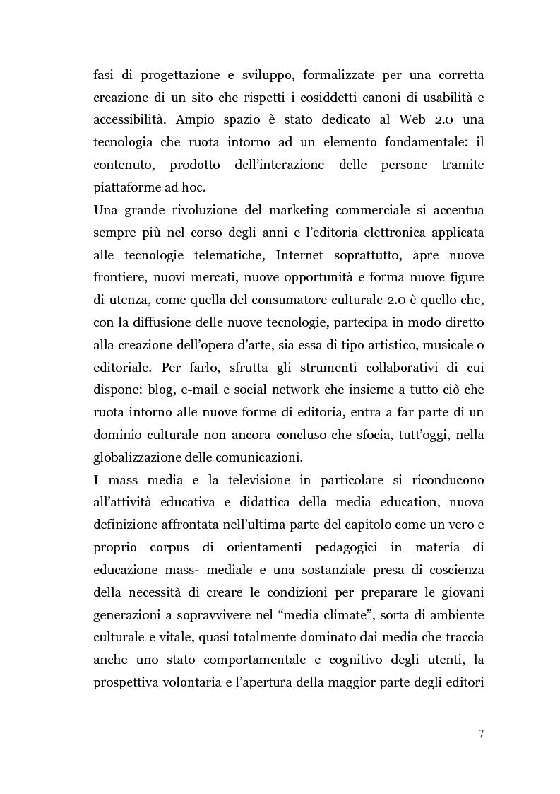 Anteprima della tesi: Analisi di un'Editoria che cambia, Pagina 4
