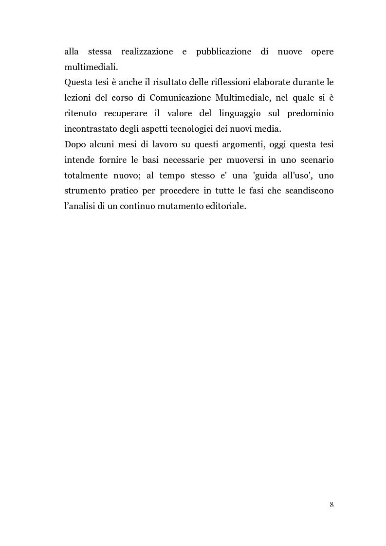 Anteprima della tesi: Analisi di un'Editoria che cambia, Pagina 5