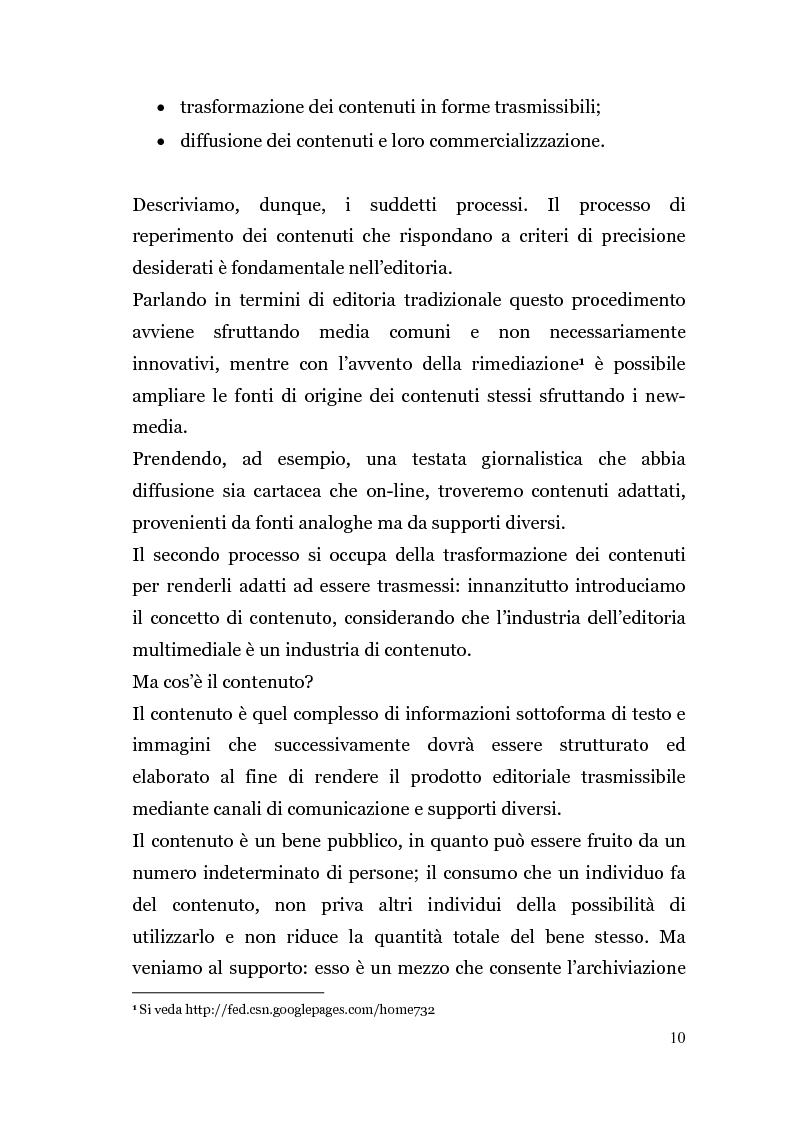 Anteprima della tesi: Analisi di un'Editoria che cambia, Pagina 7