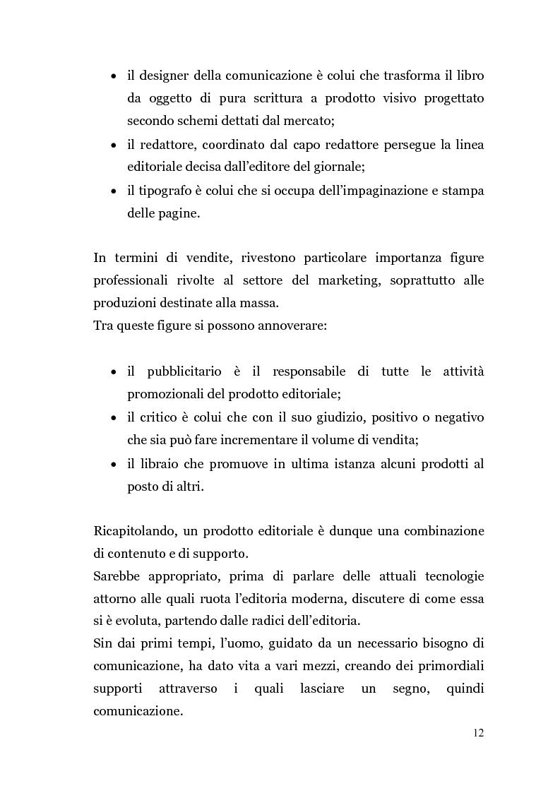 Anteprima della tesi: Analisi di un'Editoria che cambia, Pagina 9