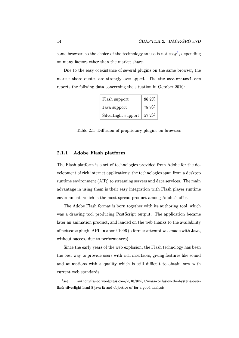 Anteprima della tesi: Collaborative web whiteboard based on the SVG technology, Pagina 6