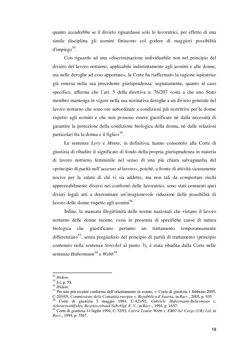 Anteprima della tesi: La normativa comunitaria in materia di orario di lavoro, Pagina 14