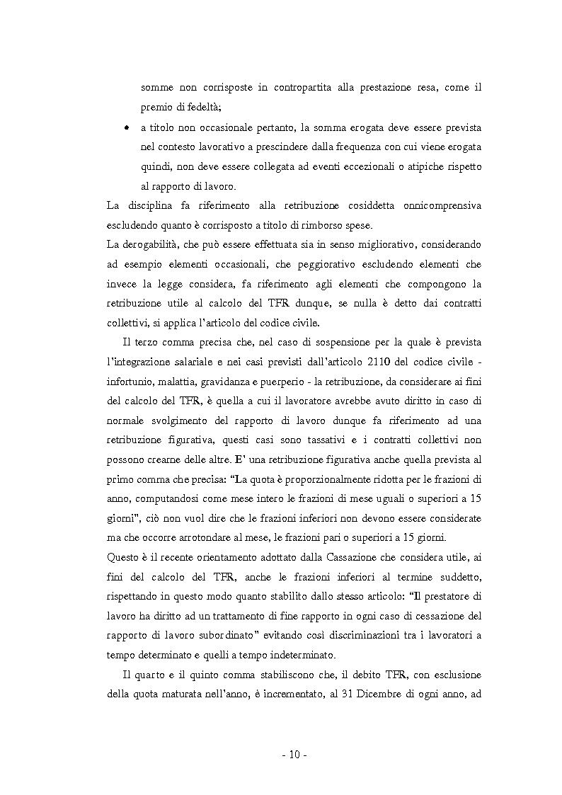 Anteprima della tesi: La Riforma del TFR. Implicazioni contabili ed amministrative., Pagina 5