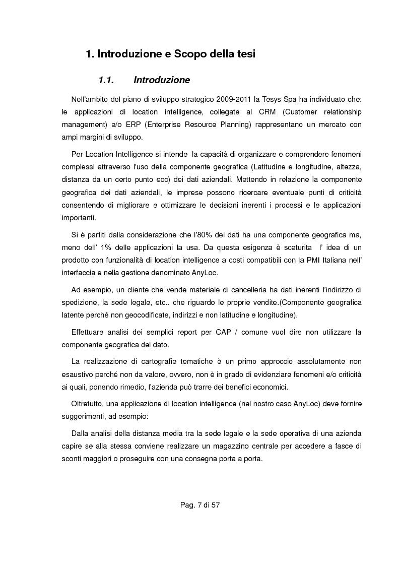 Anteprima della tesi: Realizzazione di servizio per determinare i segmenti di drive map (isocrone) su piattaforme proprietarie e libere, Pagina 2