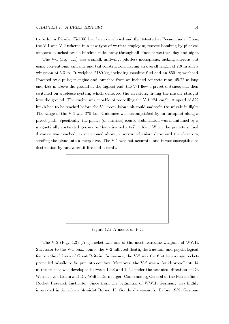 Anteprima della tesi: Nonlinear Robust Control of an Highly Manoeuvrable Missile, Pagina 7