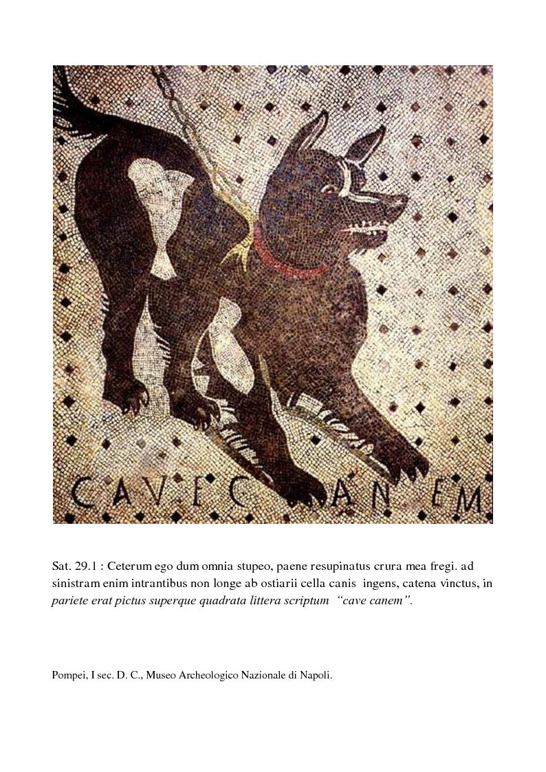 Anteprima della tesi: La poetica di Encolpio e il ritratto tacitiano di Petronio., Pagina 2
