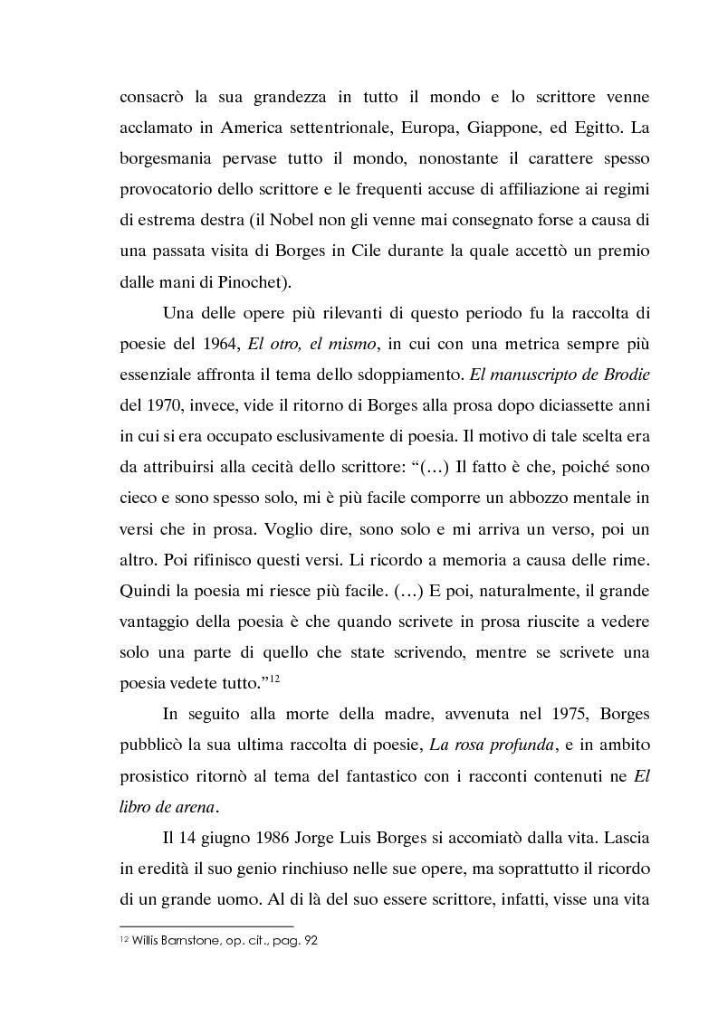 Anteprima della tesi: L'invecchiamento delle traduzioni. L'opera in prosa di Jorge Luis Borges, Pagina 13