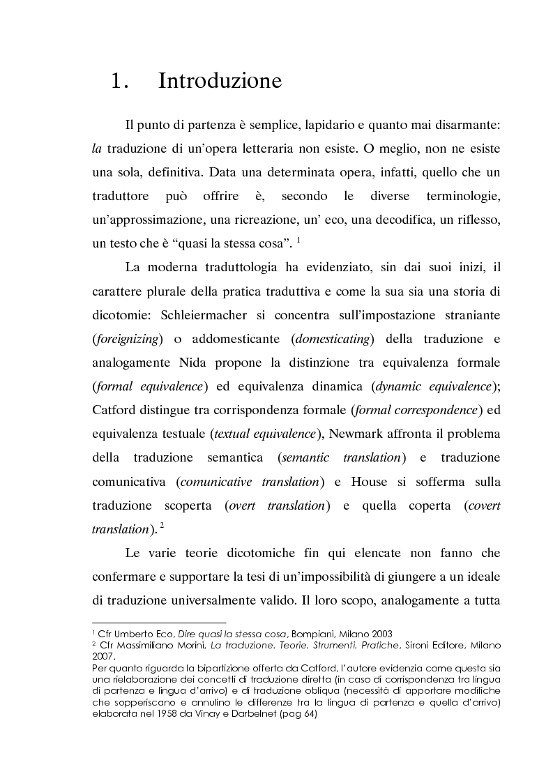 Anteprima della tesi: L'invecchiamento delle traduzioni. L'opera in prosa di Jorge Luis Borges, Pagina 2
