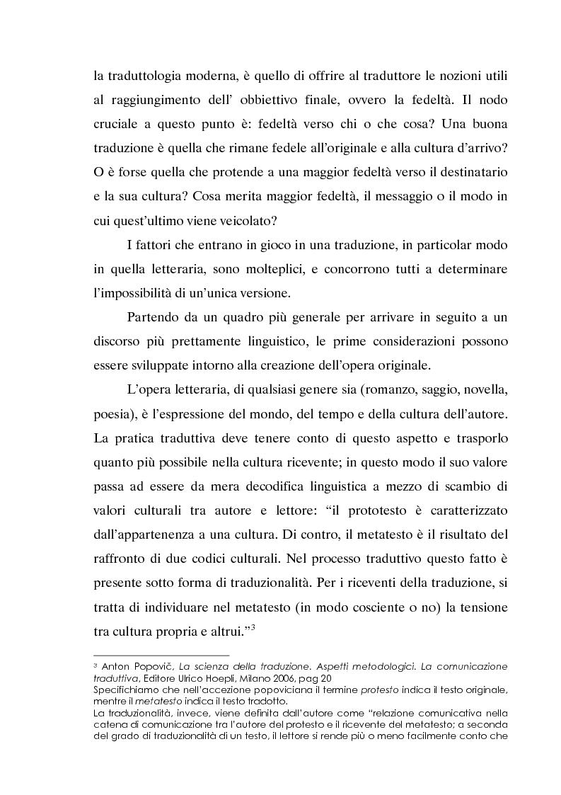 Anteprima della tesi: L'invecchiamento delle traduzioni. L'opera in prosa di Jorge Luis Borges, Pagina 3