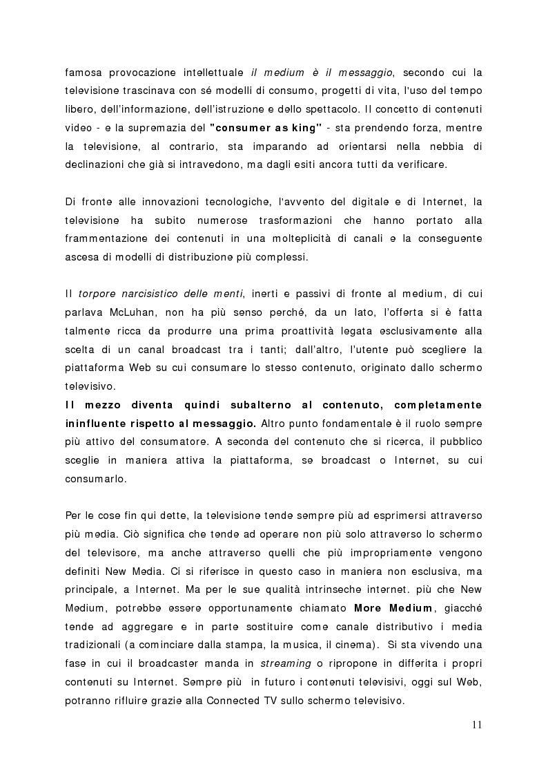 Anteprima della tesi: Surfing on TV. Modelli di Business per la Connected Television, Pagina 10