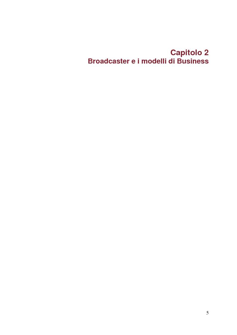 Anteprima della tesi: Surfing on TV. Modelli di Business per la Connected Television, Pagina 4